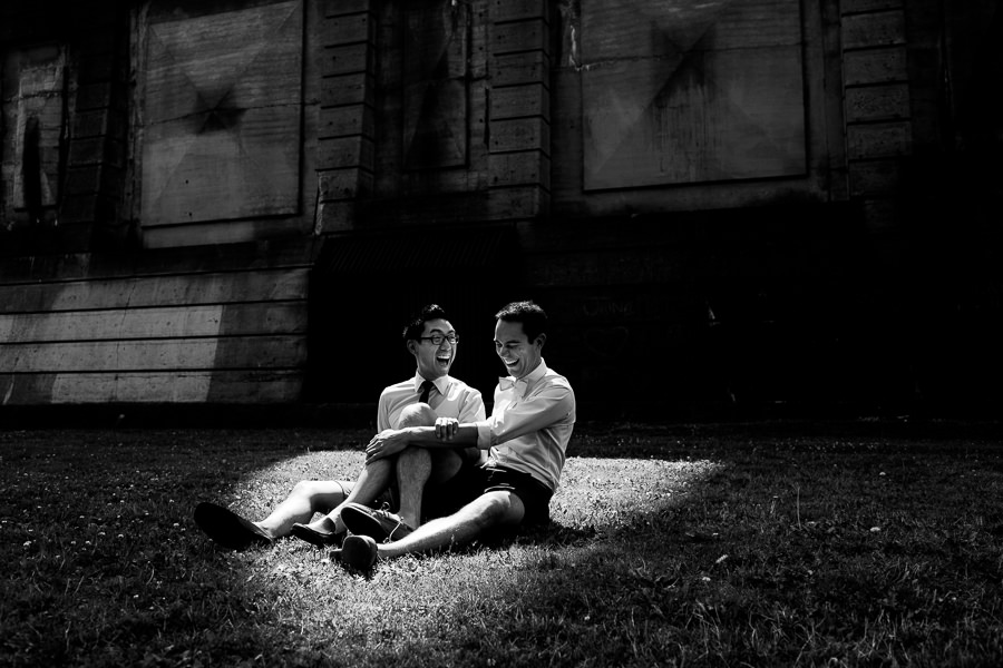 Engagement photos at St. John's Cathedral Park in Portland, Oregon by Daniel Stark Photography (6)