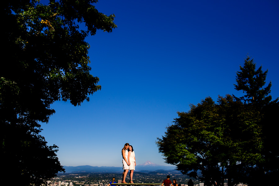 Chrissy and Kelly's same sex wedding at Pittock Mansion in Portland by Stark Photography. (7)