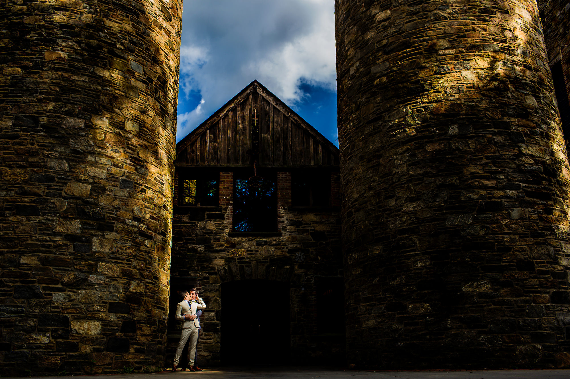 Lovely same sex wedding at Blue Hill Farm at Stone Barns in New York by Stark Photography (10)