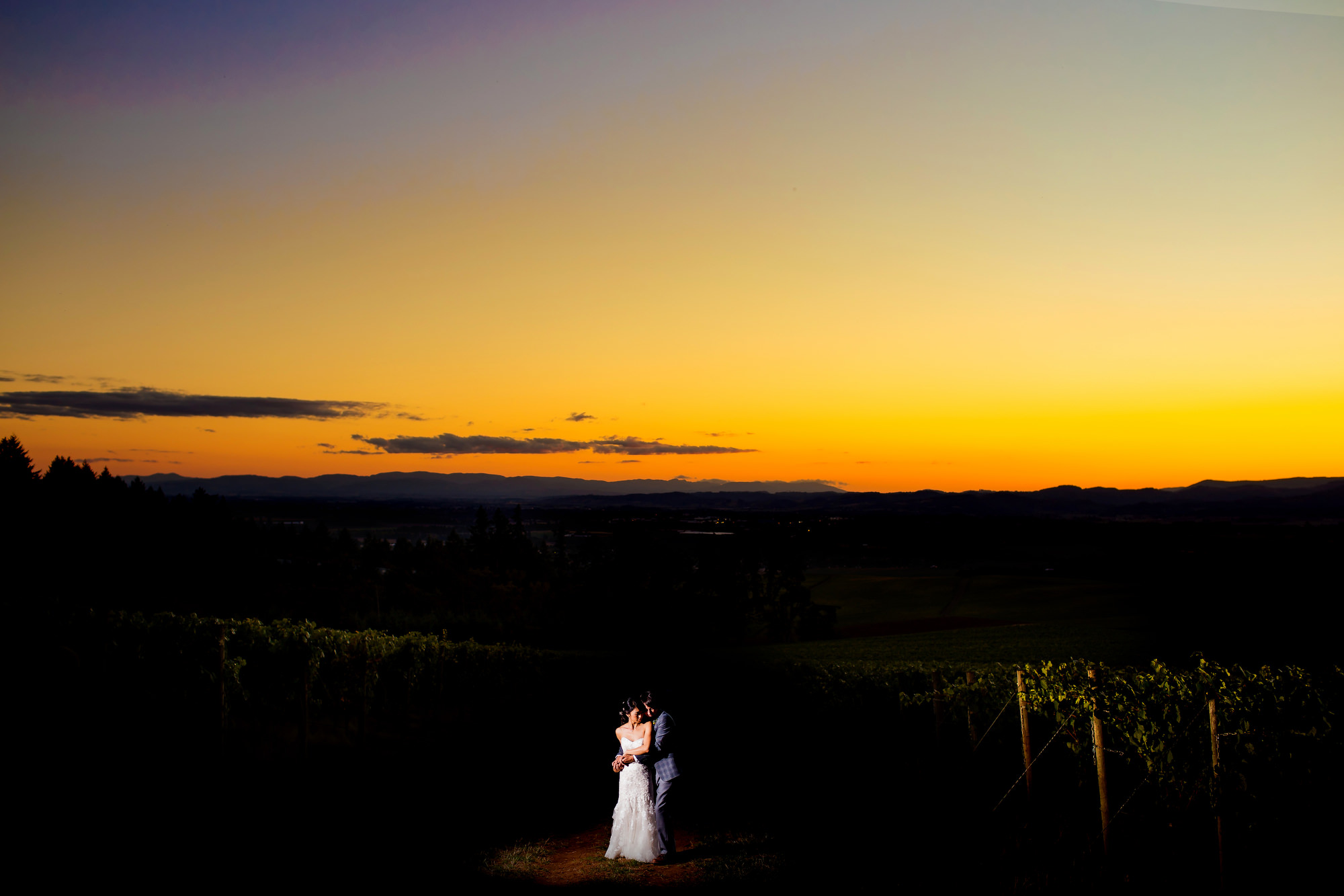 A beautiful wedding set in the Willamette Valley at Vista Hills Vineyards photographed by Portland Photographers, Daniel and Lindsay Stark of Stark Photography. (11)