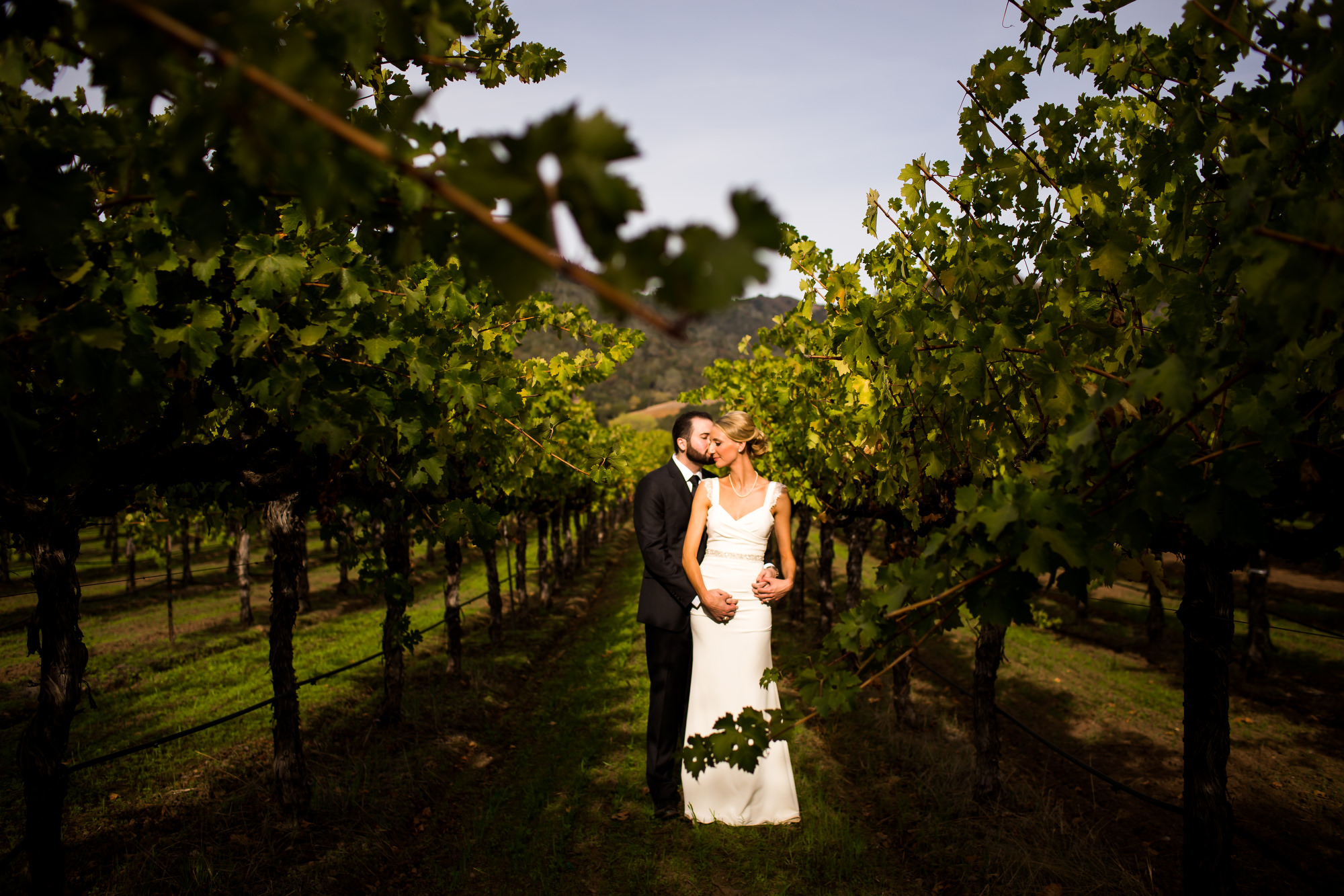 A beautiful and romantic vineyard wedding at Soda Rock Winery in Healdsburg, California, photographed by (1)