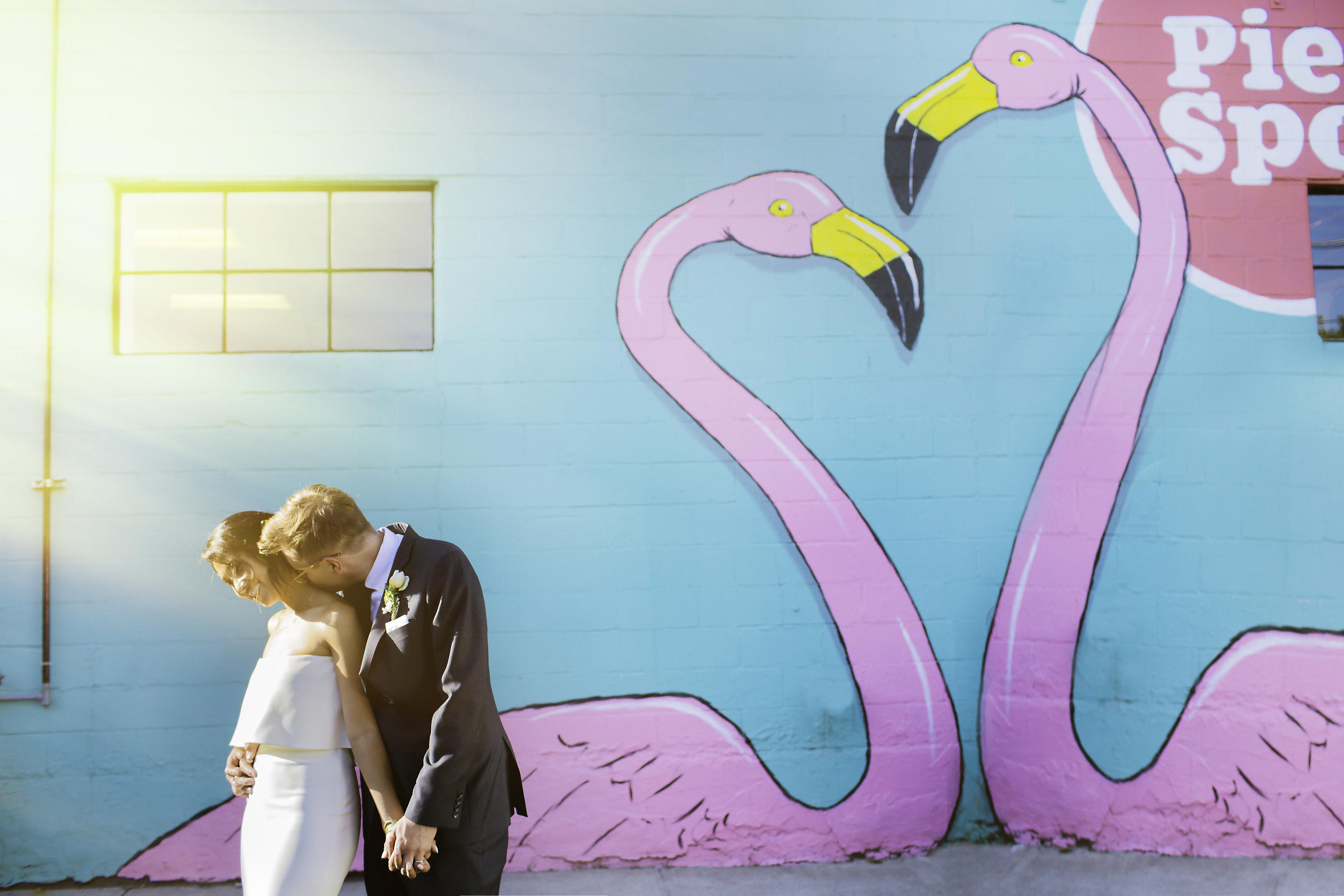 A fun outdoor wedding at Han Oak, a Eastside Portland, Oregon restaurant by Portland photographers, Stark Photography. (1)