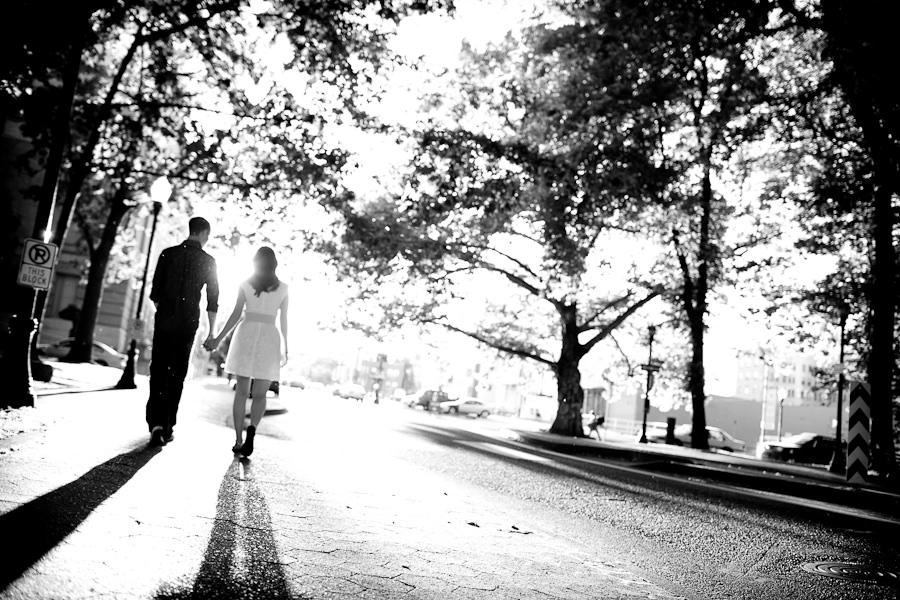 portland oregon engagement shoot, daniel stark photography