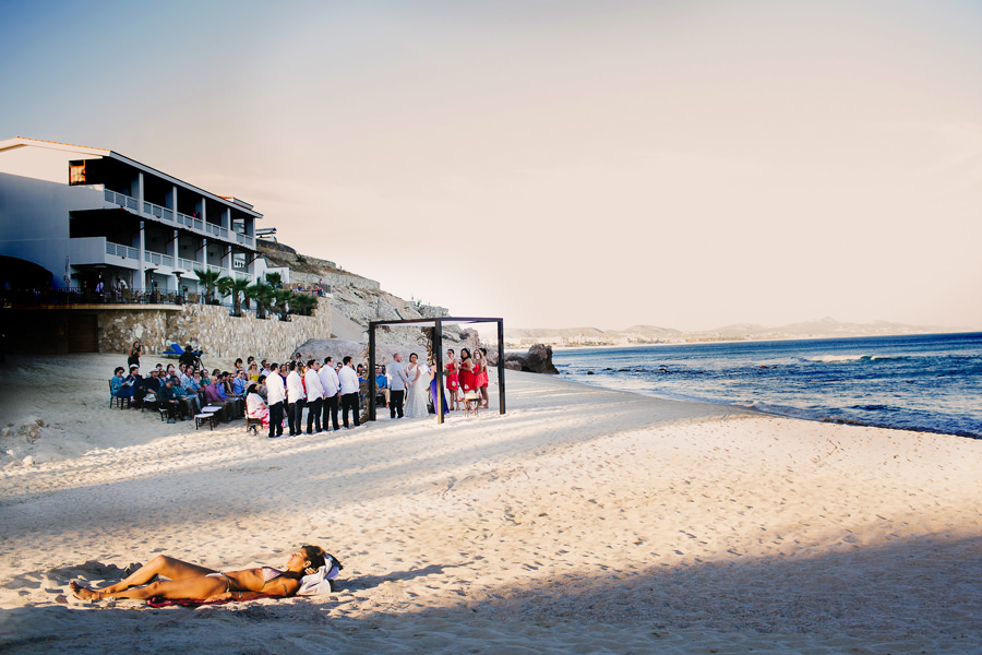 Cabo Surf Beach Wedding