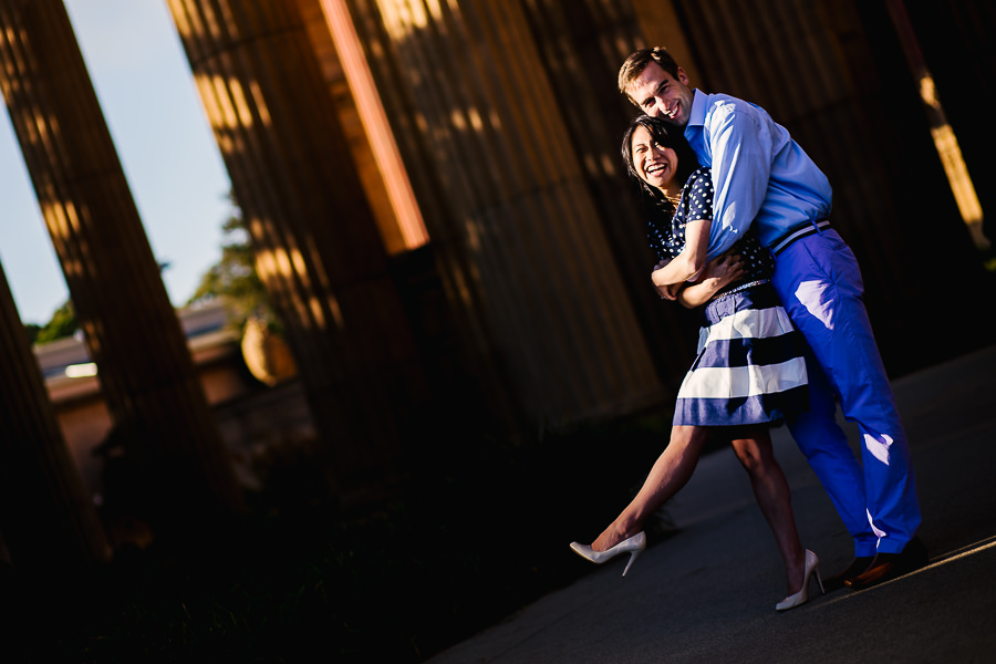 Palace of Fine Arts Wedding, San Francisco Engagement Photos.  (7)