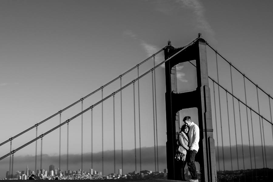 San Francisco Engagement at Marin Headlands.