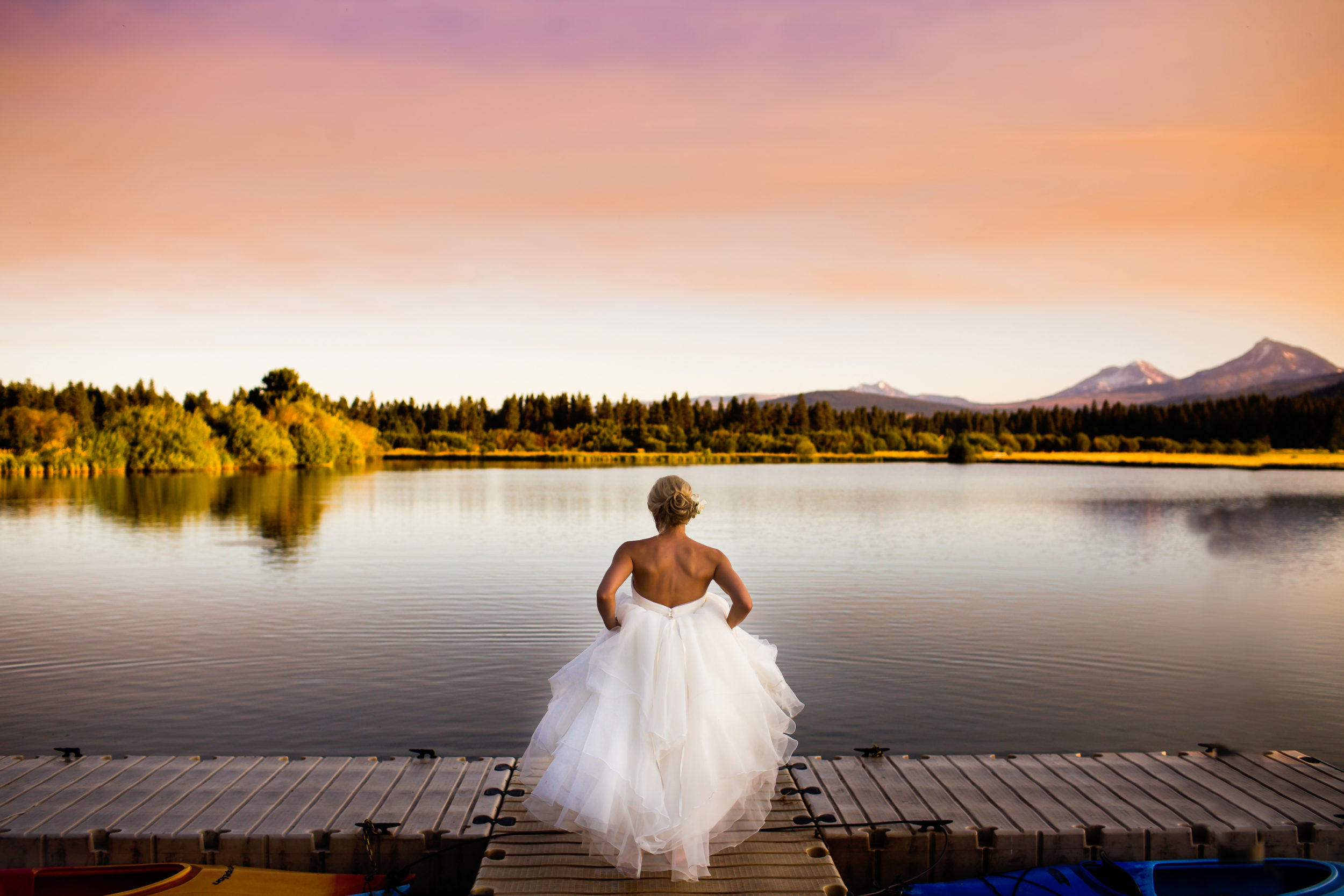 Black Butte Ranch Wedding in Sisters Oregon