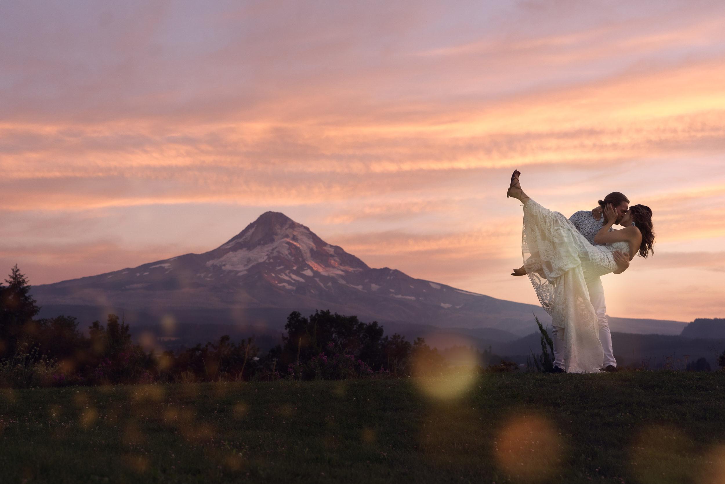 Mt. Hood Organic Farms Wedding