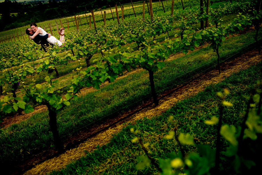 White Rose Winery Wedding