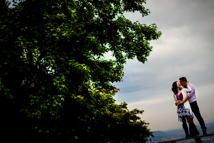 Pittock Mansion Engagement Wedding Photos (6)