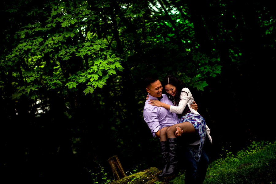 Pittock Mansion Engagement Wedding Photos (5)