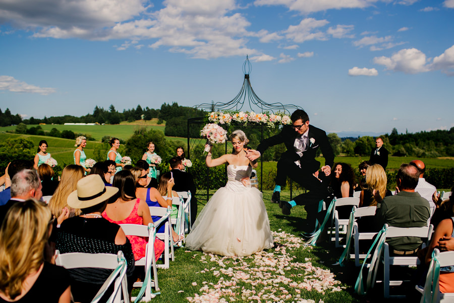 A winery wedding by Stark Photography