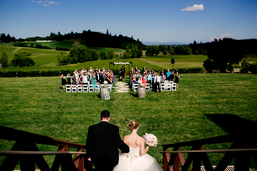 A beautiful Zenith Vineyard Winery Wedding by Stark Photography in the dundee hills of Oregon. (13)