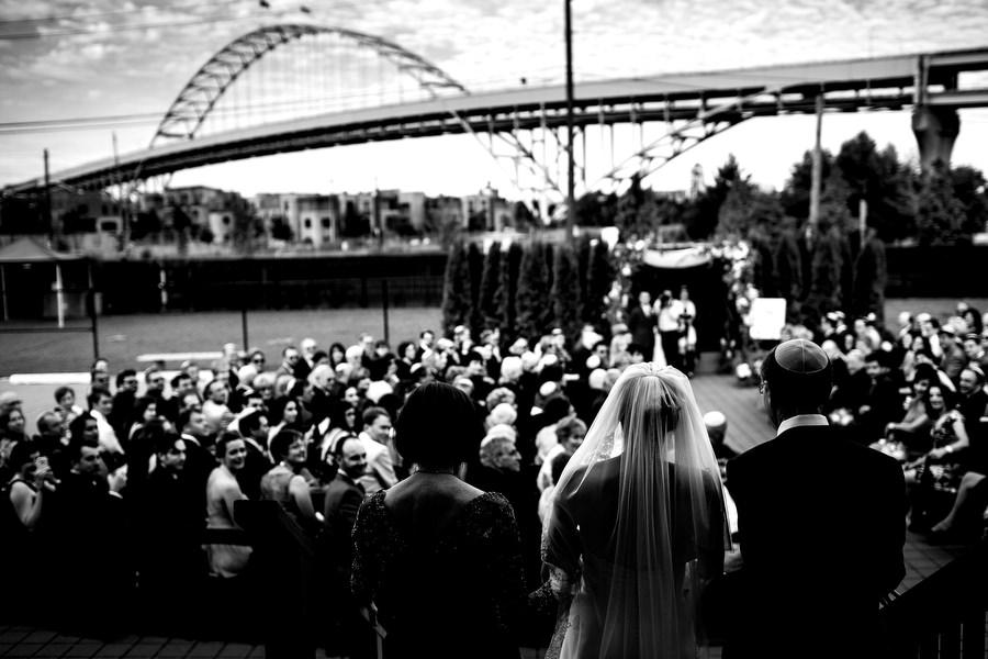 Jewish Wedding Castaway, Portland, Oregon. (13)