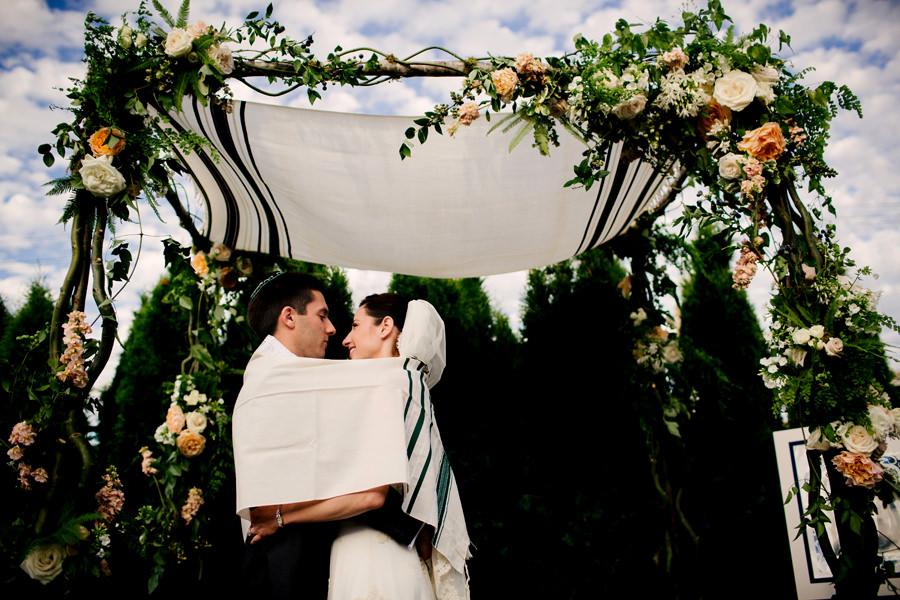 Jewish Wedding under the Hora
