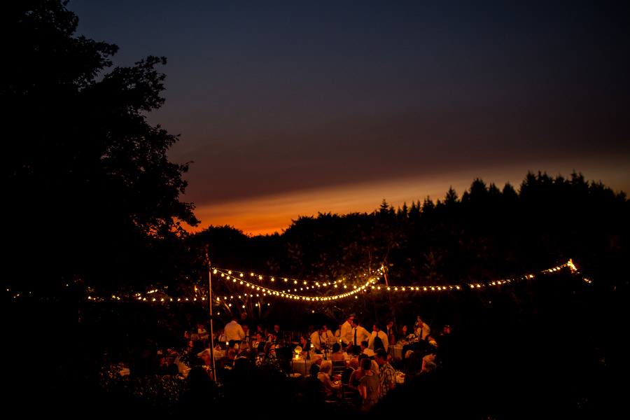 A beautiful wedding ceremony outside of Portland at Kraxburger Farm photographed by Stark Photography. (12)