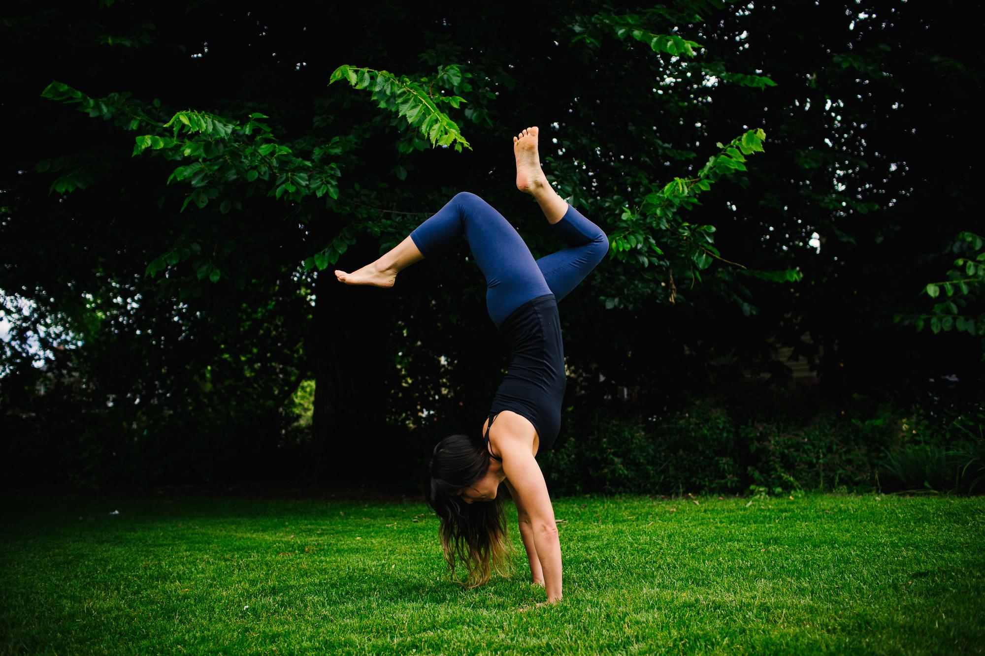 Yoga Medicine Ambassador and Yogi, Danielle. Headshots and lifestyle portraits by Stark Portraits.