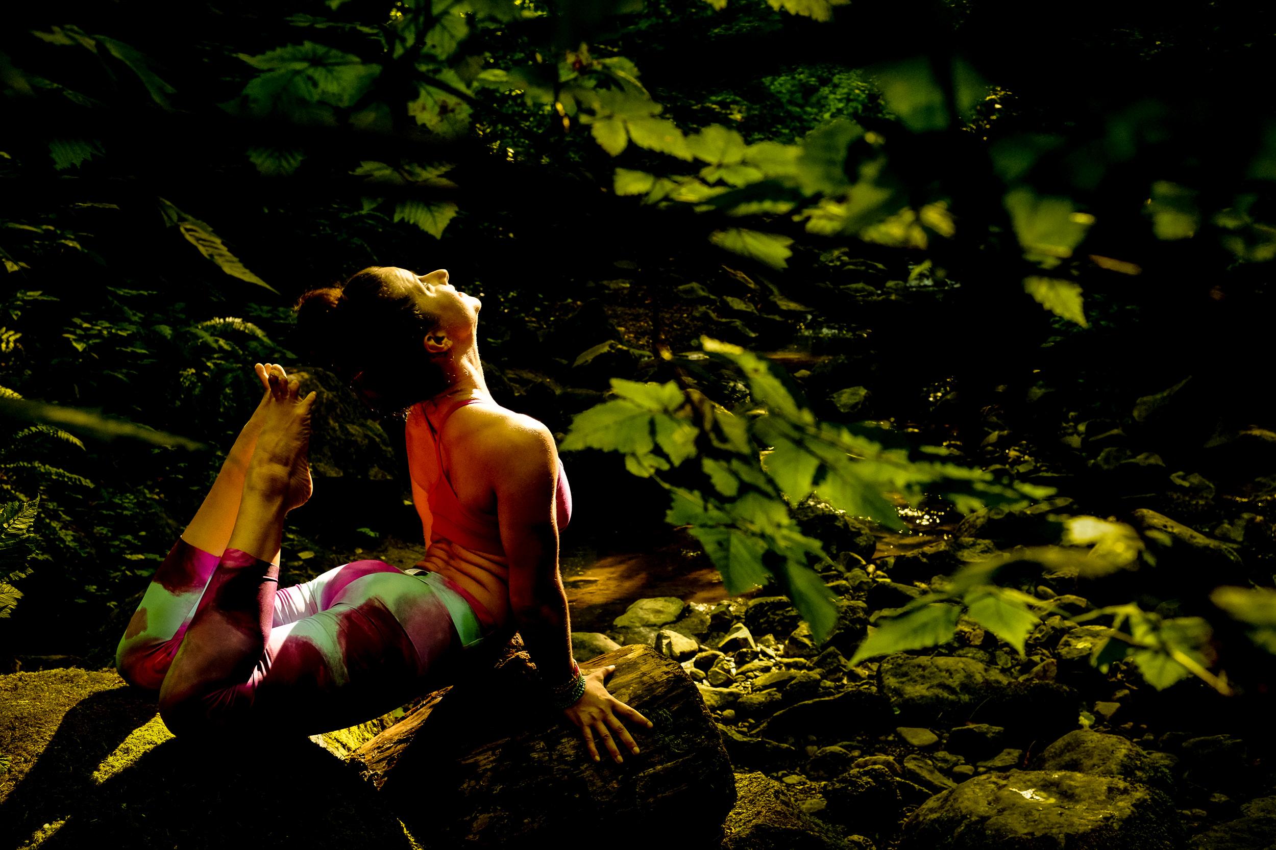 Mackenzie Miller Yoga headshots and lifestyle branding Photography Portraits.