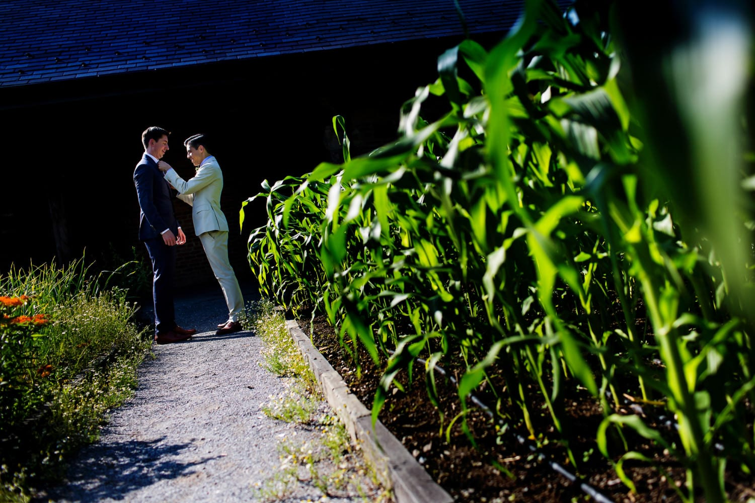 Blue Hill Farm at Stone Barns Same Sex Wedding NY (7)