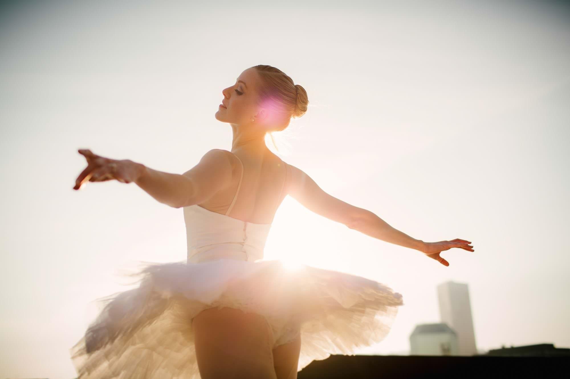 Angela Gibson, Ballerina Dancer Branding Portraits