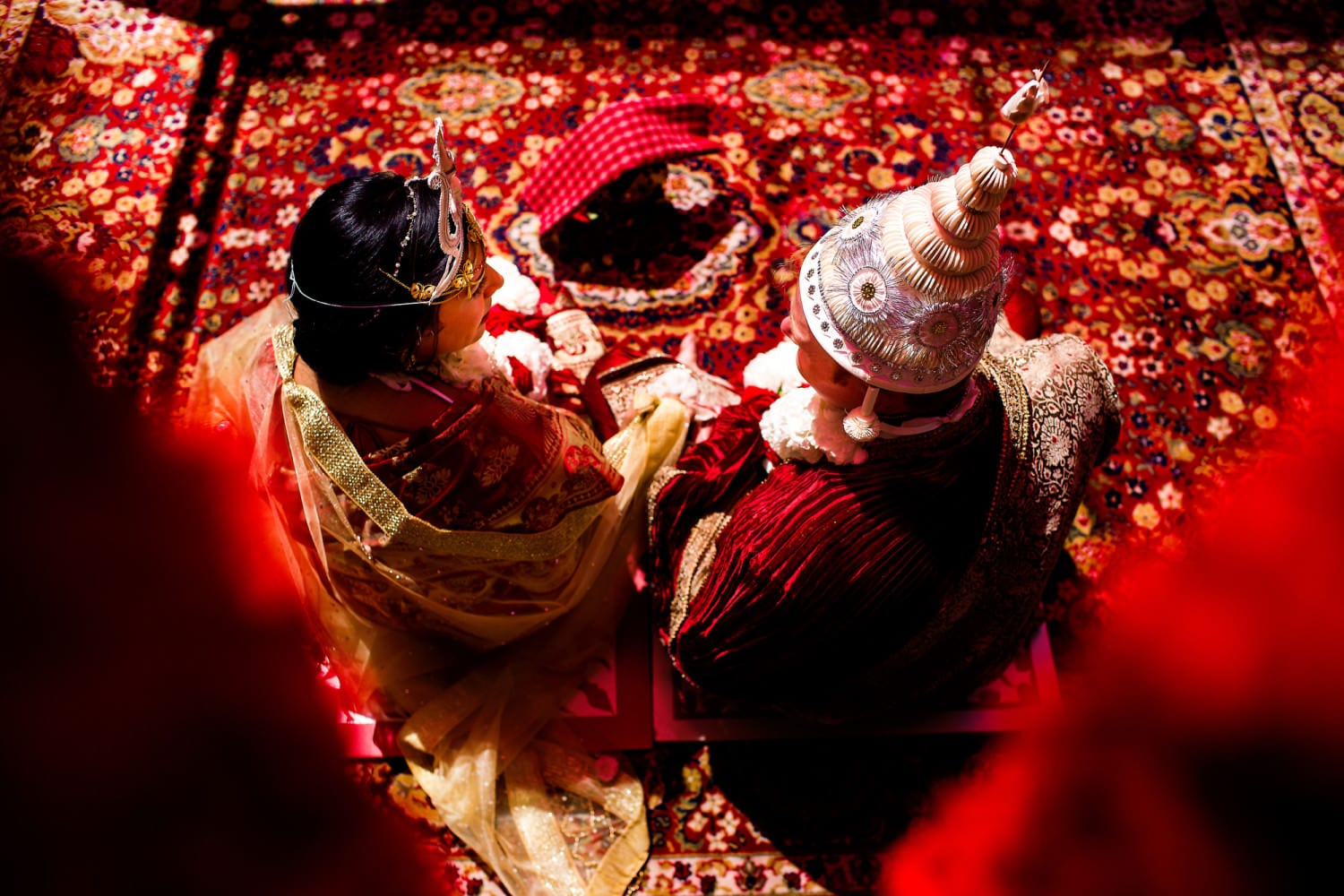 Indian Wedding Ceremony at Oregon Historical Society and Ponzi Winery (18)