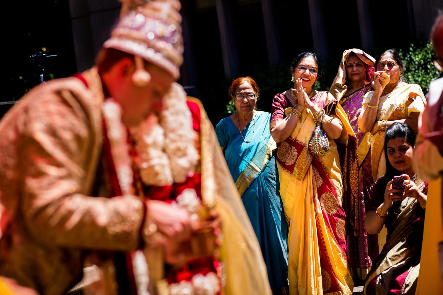 Indian Wedding Ceremony at Oregon Historical Society and Ponzi Winery (16)