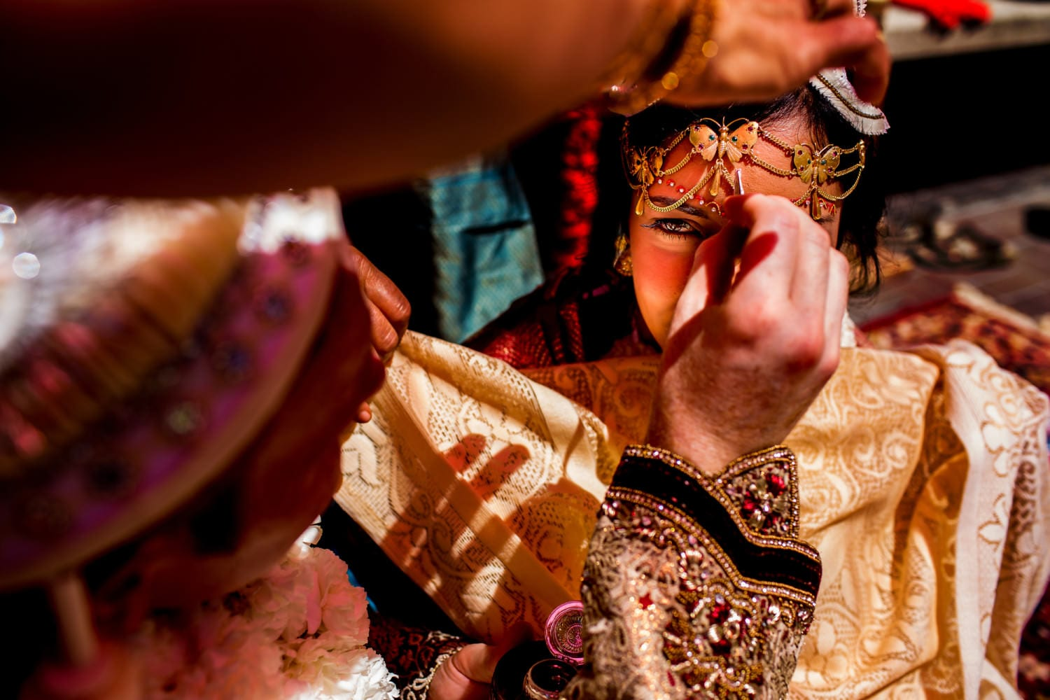 Indian Wedding Ceremony at Oregon Historical Society and Ponzi Winery (15)