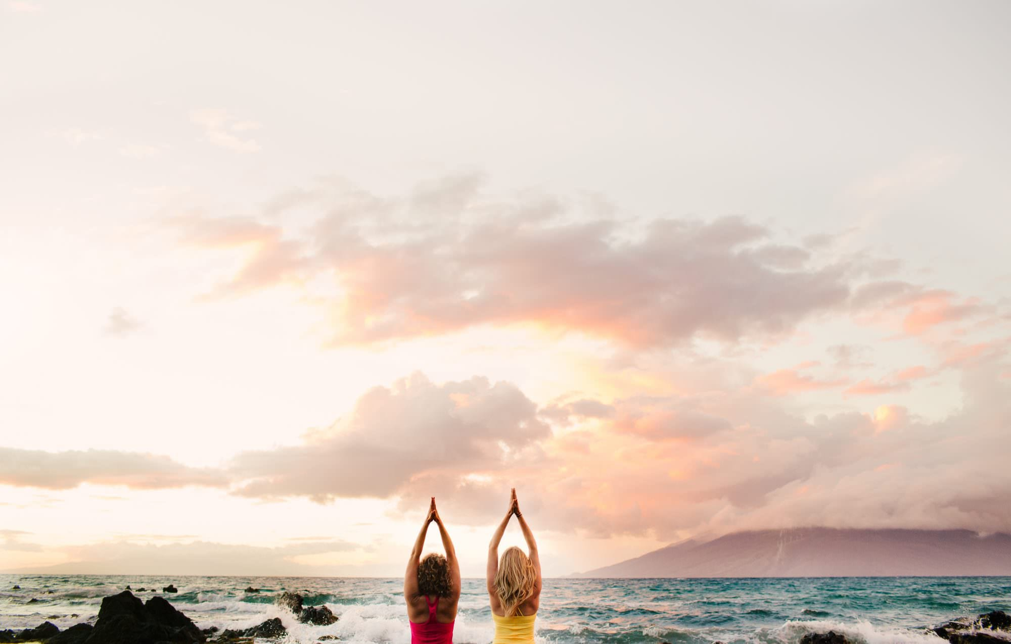 Kate Bug Yoga Branding Portraits, Maui, Hawaii
