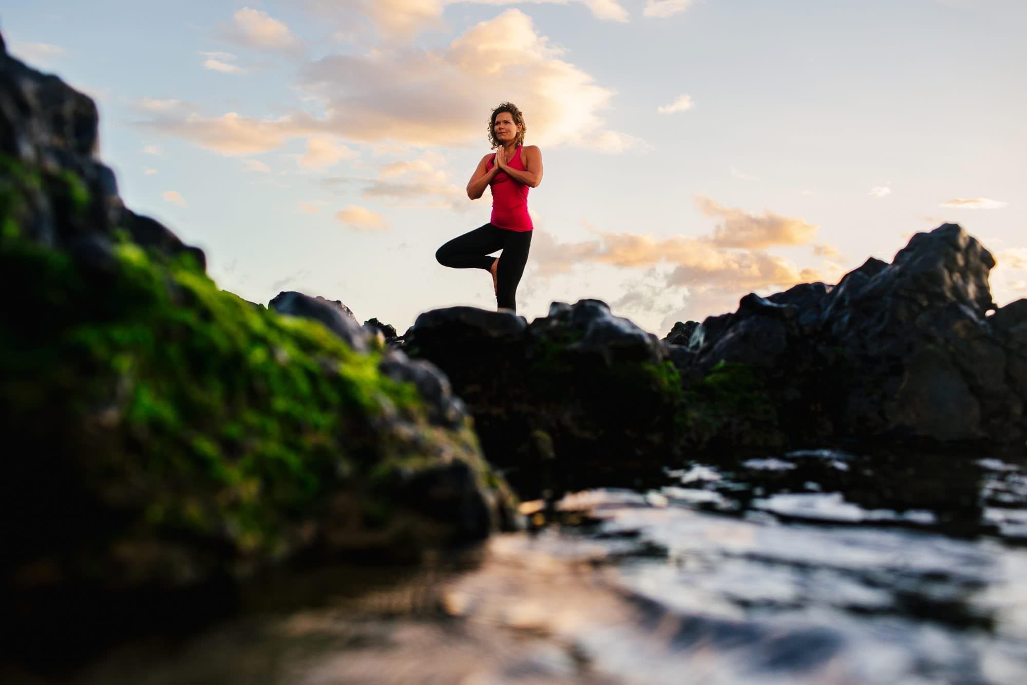 Kate Bug Yoga Branding Portraits, Maui, Hawaii-1