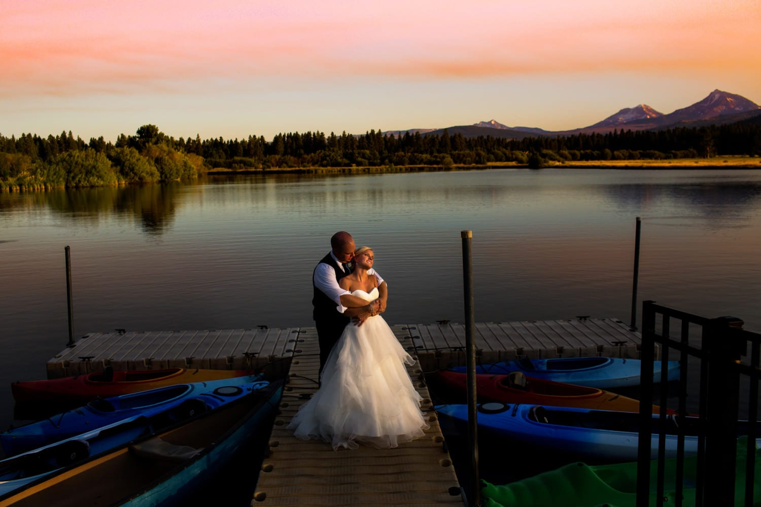 Black Butte Ranch Resort Wedding in Sisters, Oregon. (23)