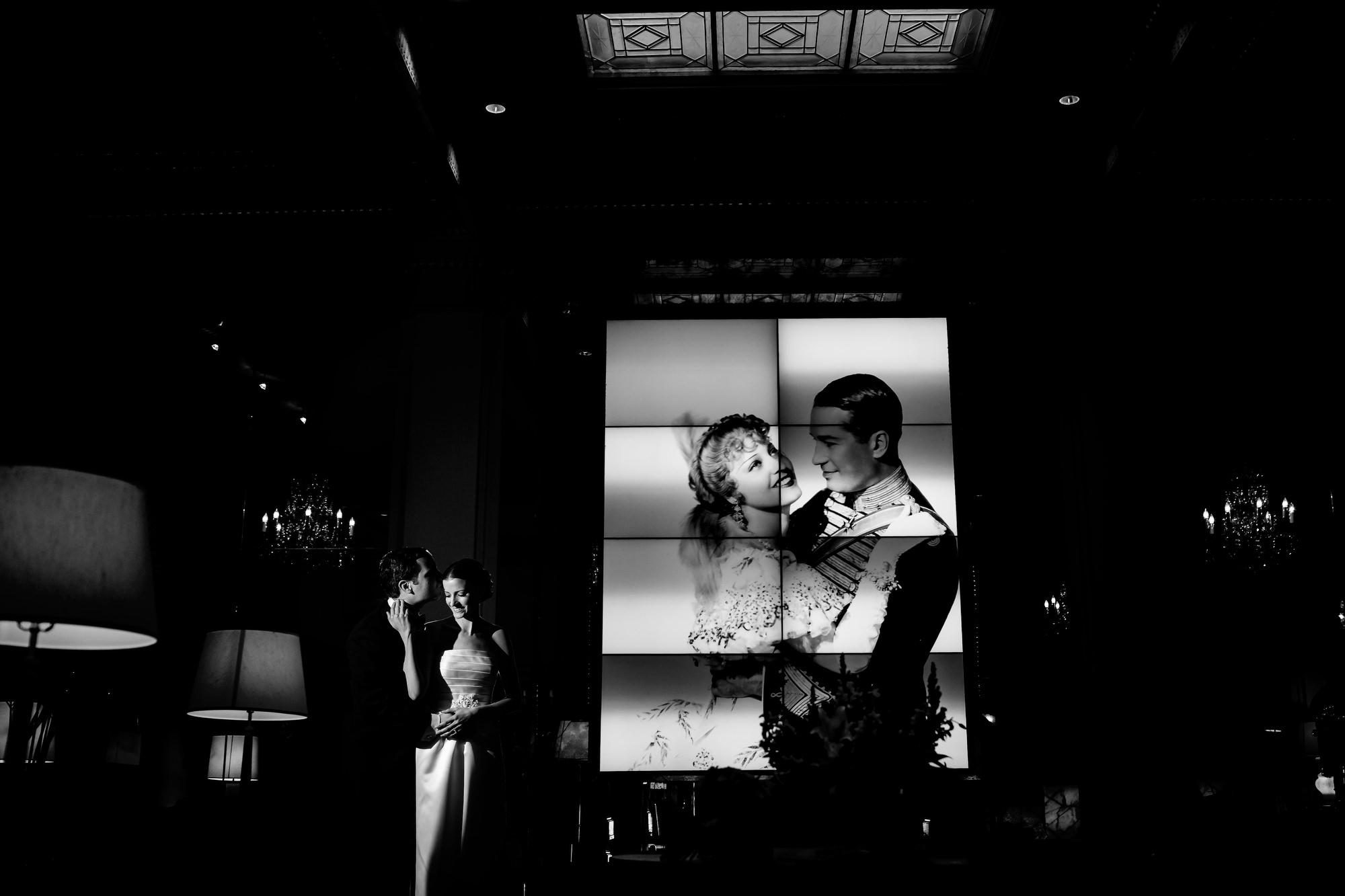 A fun and exciting Jewish Wedding at Congregation Beth Israel Portland Oregon Hotel Deluxe wedding by portland wedding photographers, Daniel and Lindsay Stark. (28)