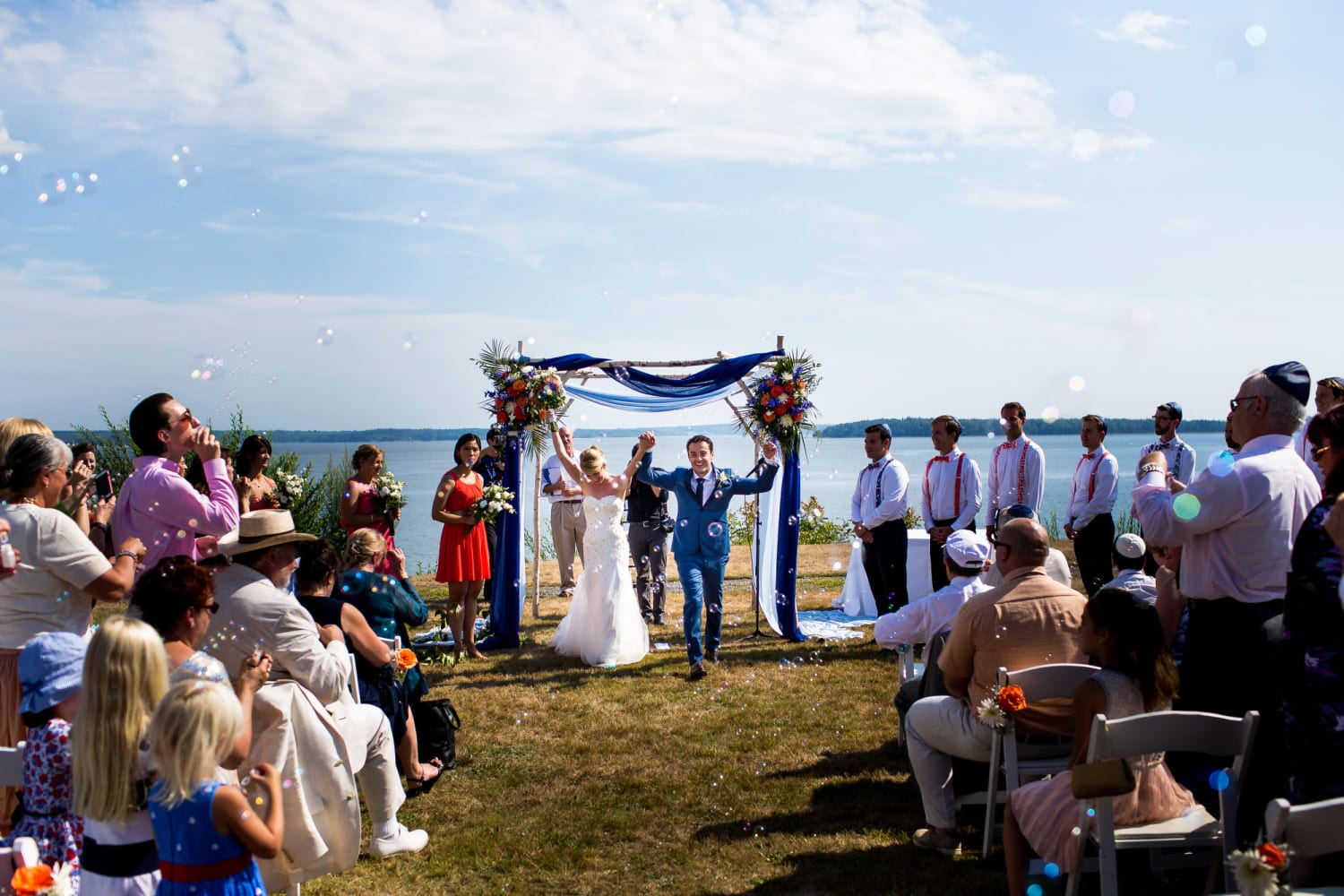 French's Point, Maine, Wedding (50)
