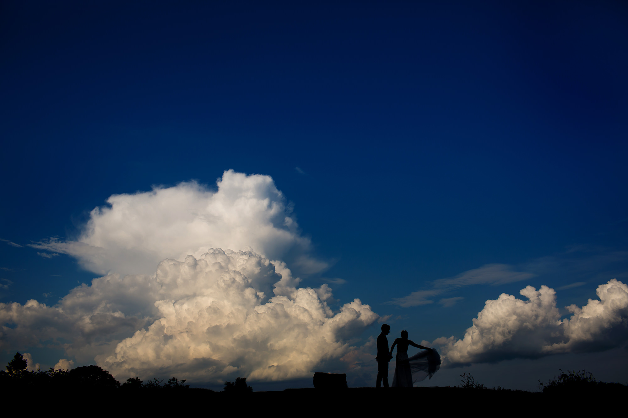 Coastal wedding on French's Point, Maine, the east coast of the USA. Photographed by Stark Photography. (52)