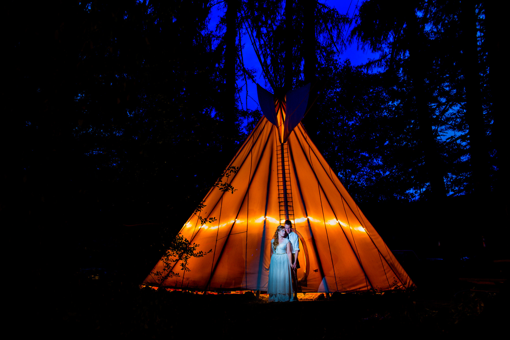 Tipi Village Retreat Wedding (3)
