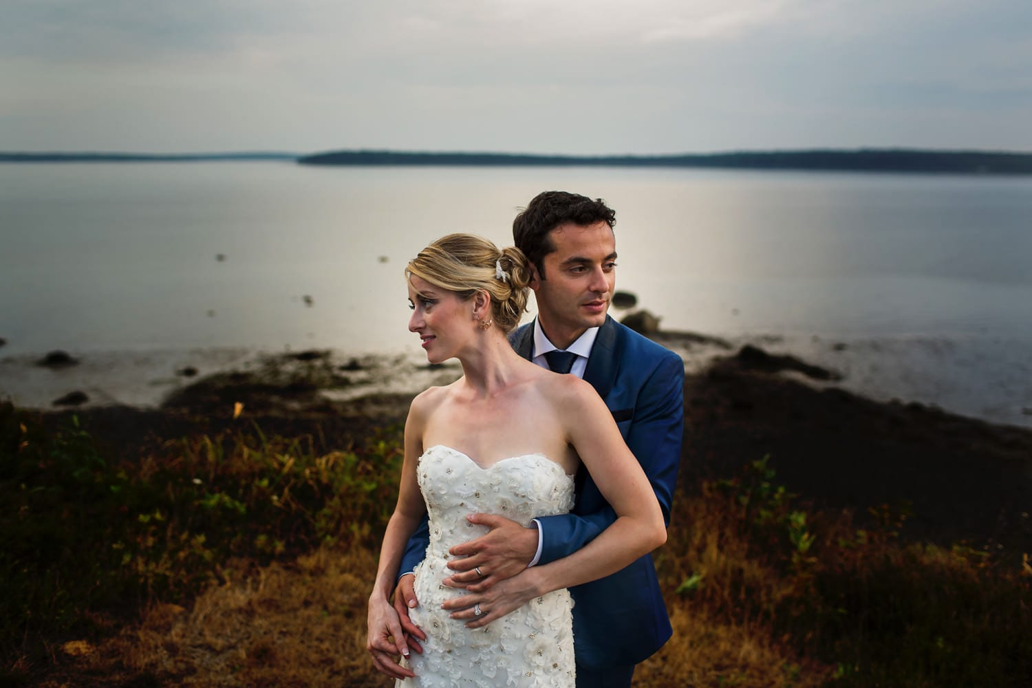 French's Point, Maine, Wedding (1)