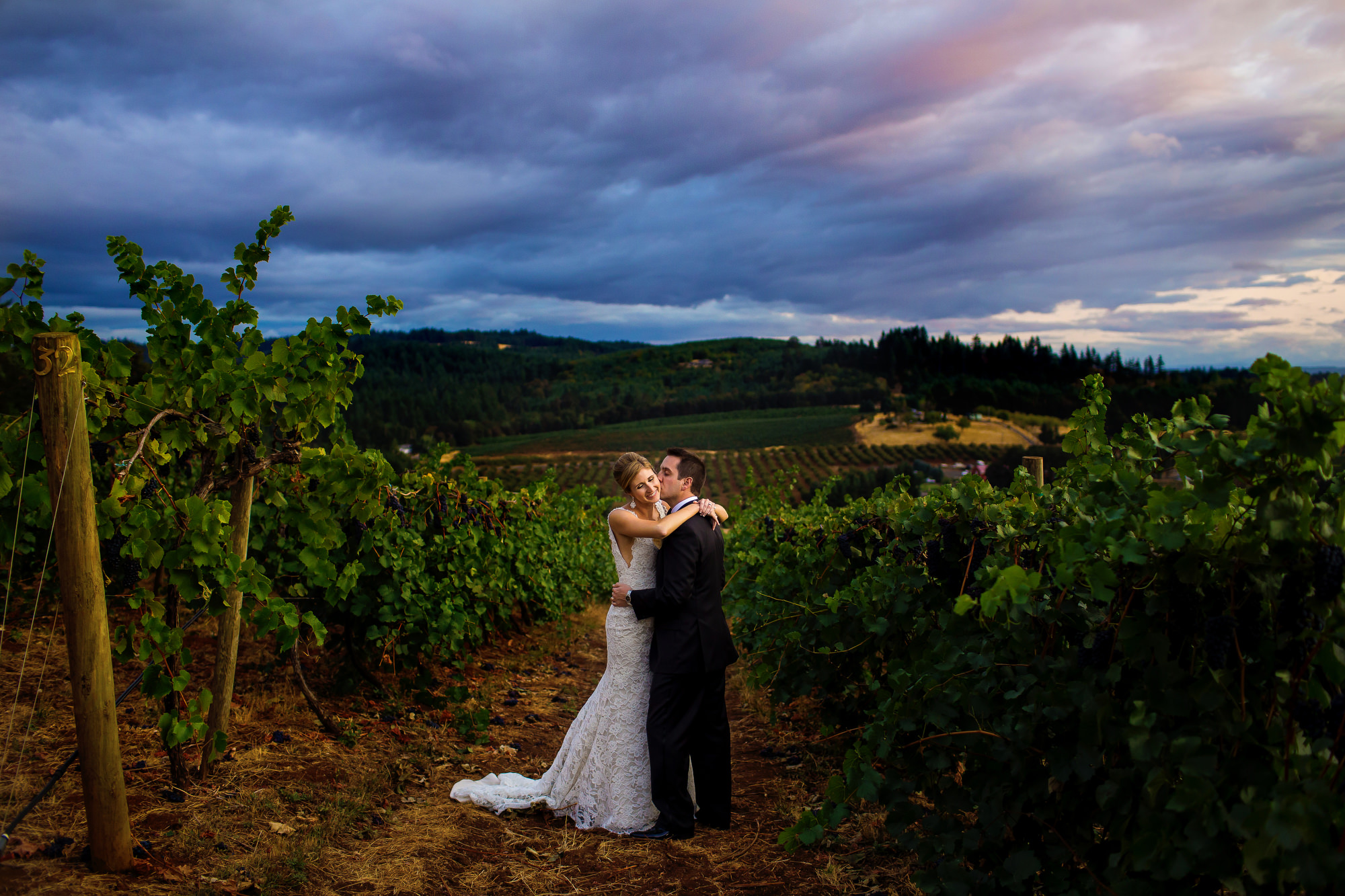 Willamette Valley Vineyards Wedding in beautiful wine country of NW Oregon by stark photography. (13)