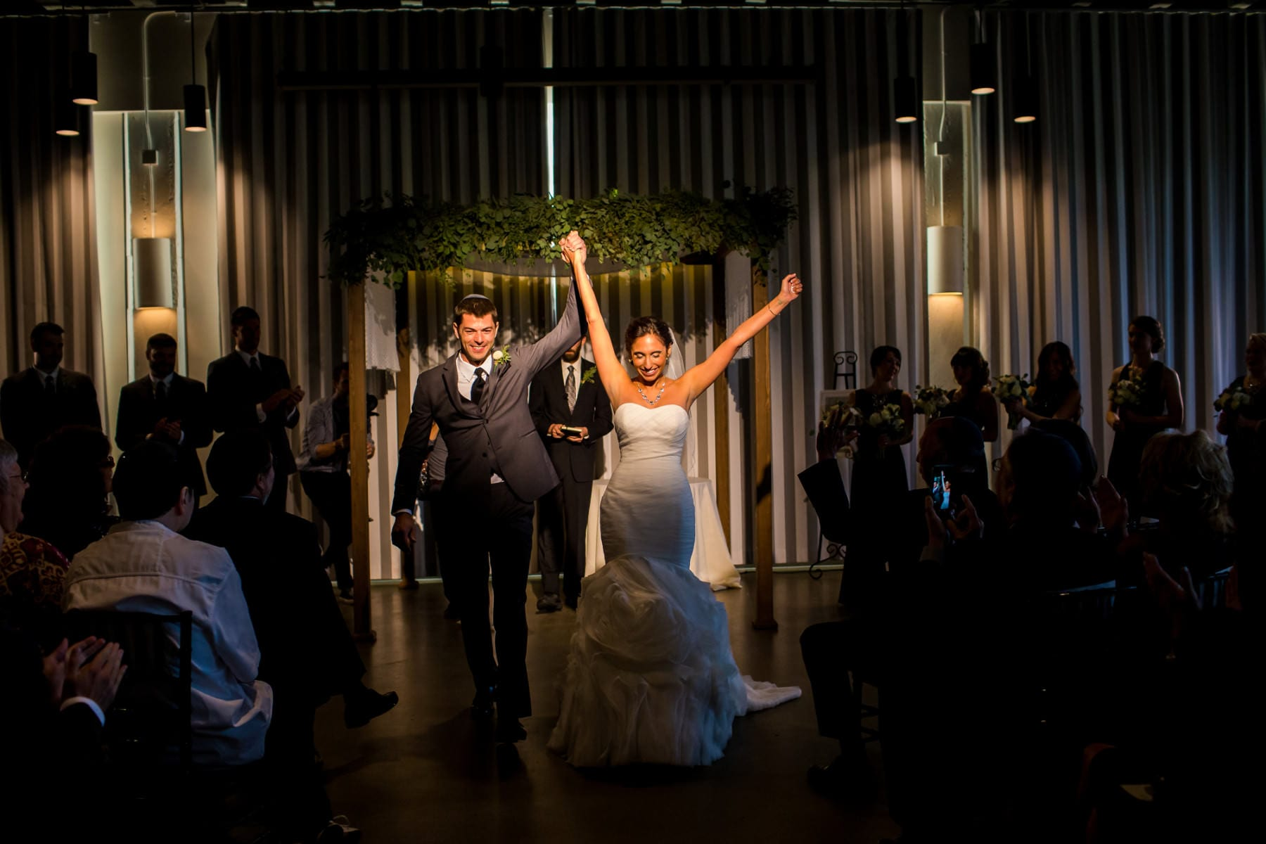 Exchange Ballroom Wedding Portland, Oregon. (35)