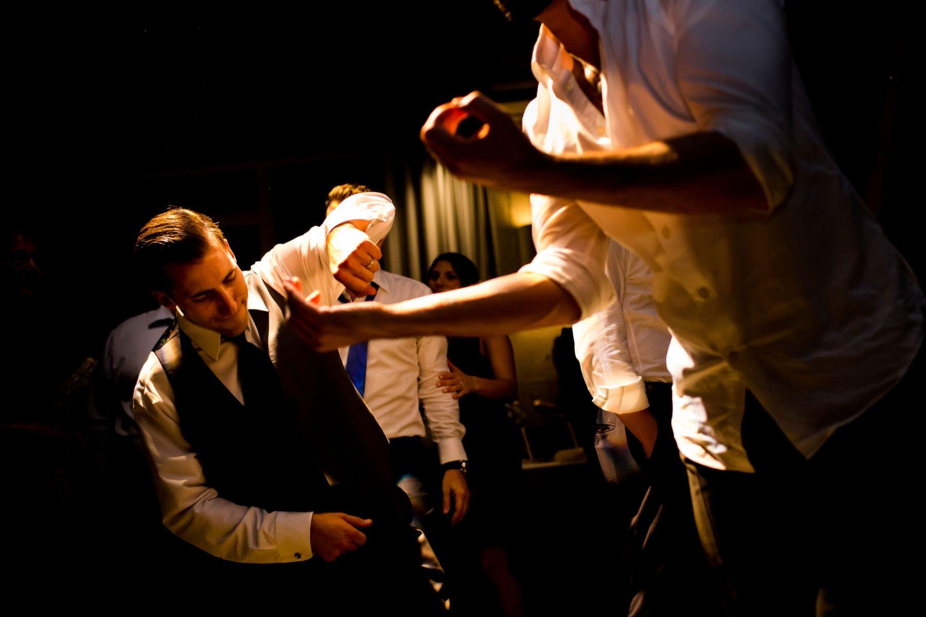 Exchange Ballroom Wedding Portland, Oregon. (1)