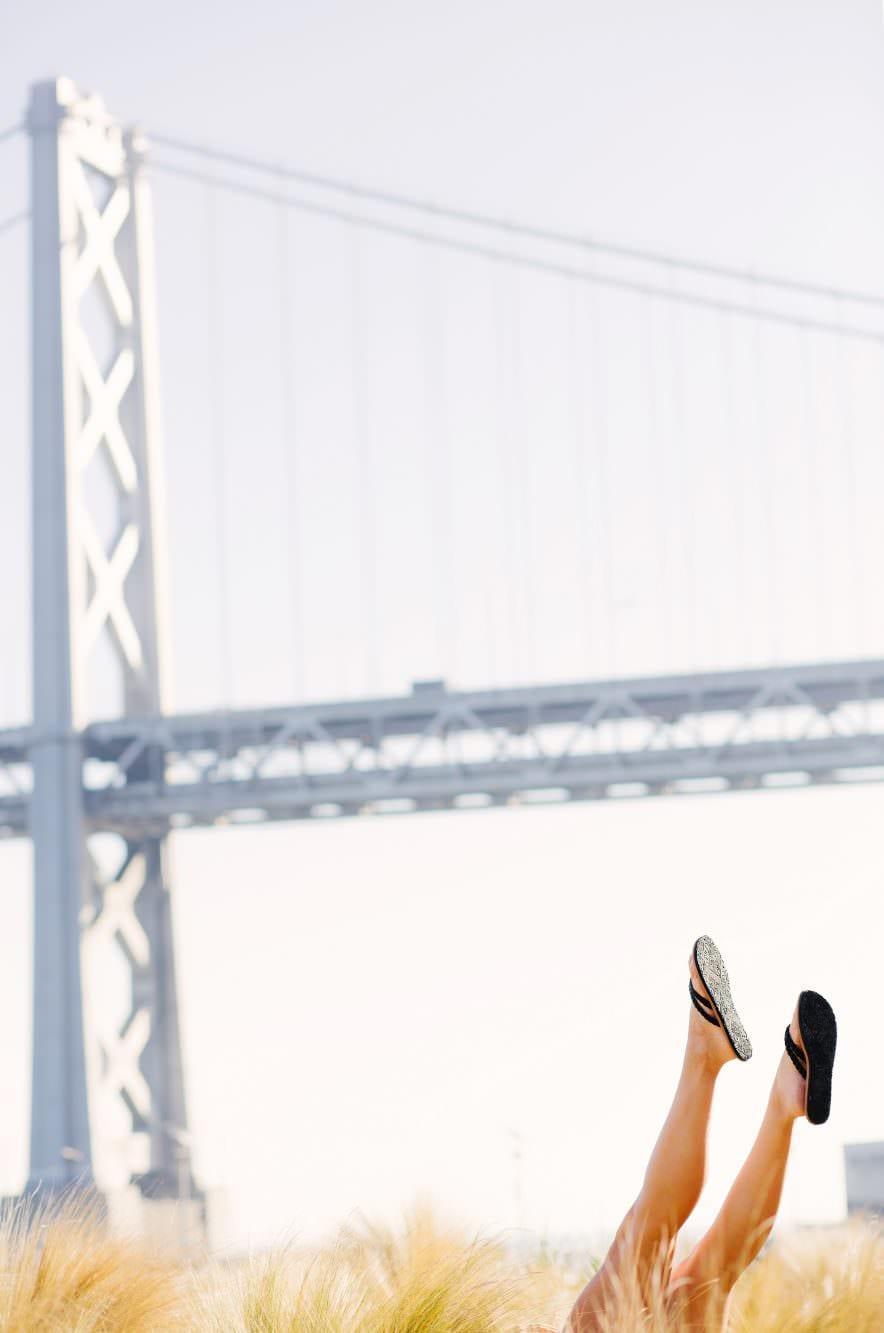 Kathryn Budig Yoga Branding Portraits Toe Sox
