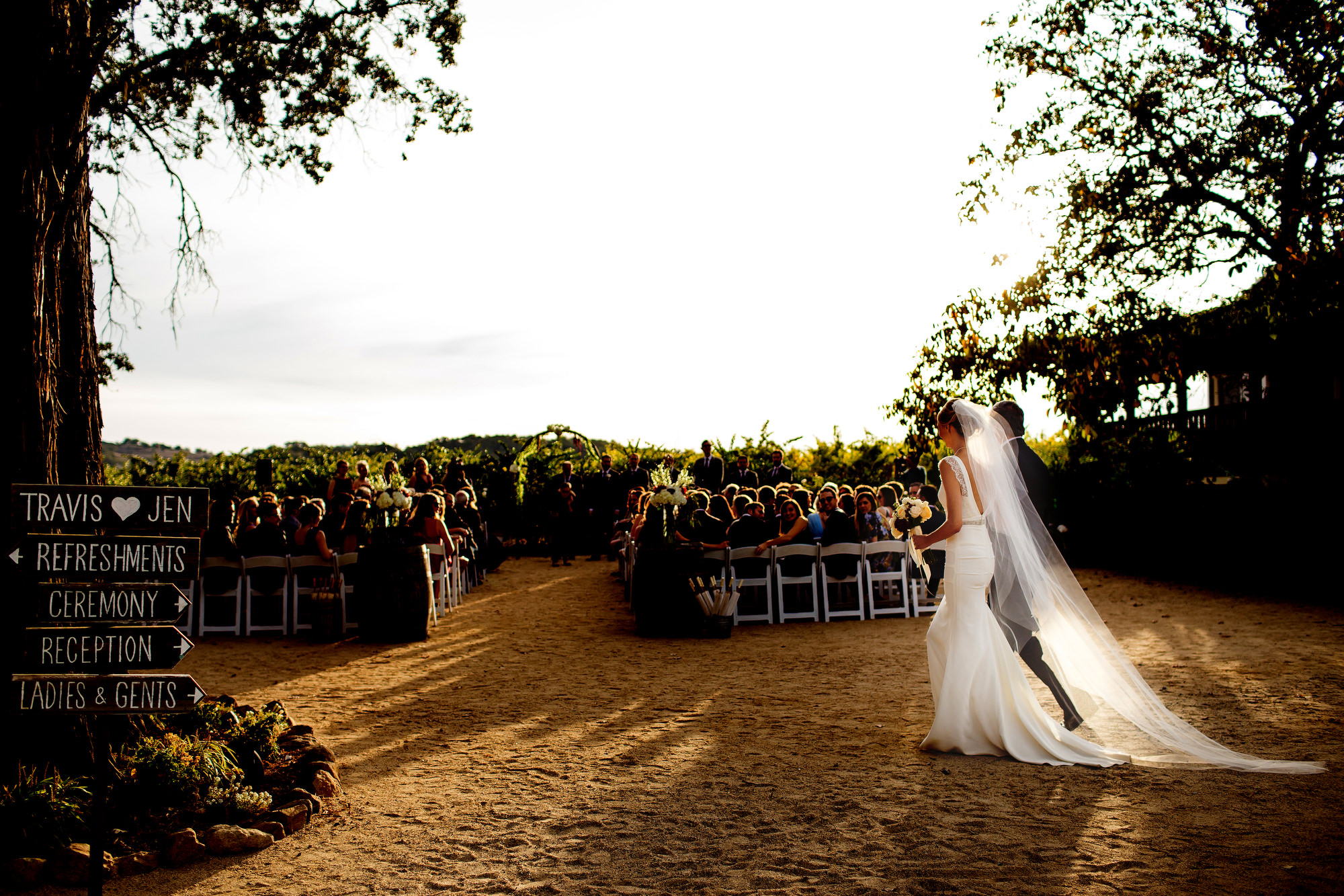 A beautiful and romantic vineyard wedding at Soda Rock Winery in Healdsburg, California, photographed by (14)