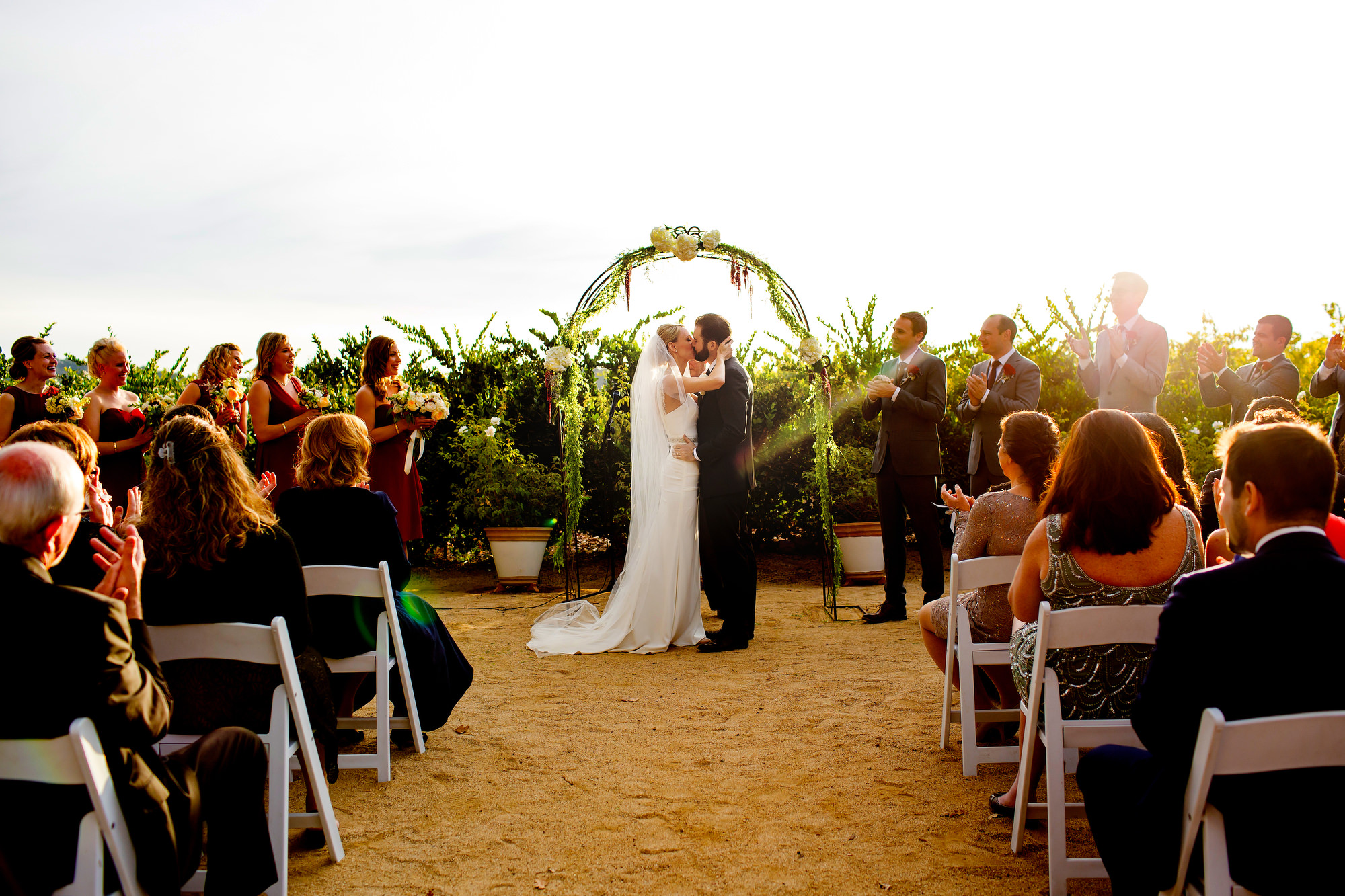 A beautiful and romantic vineyard wedding at Soda Rock Winery in Healdsburg, California, photographed by (11)