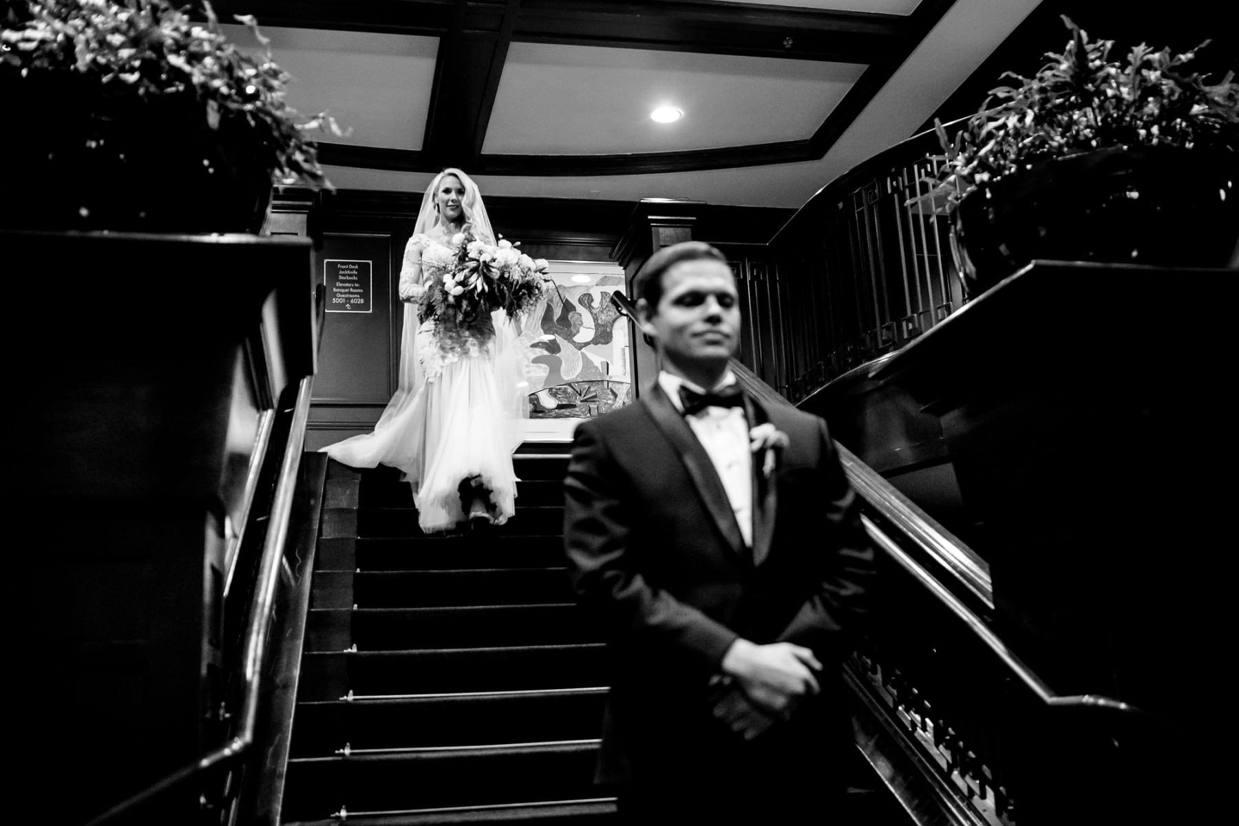 Blue Hour Wedding in Portland, Oregon (27)