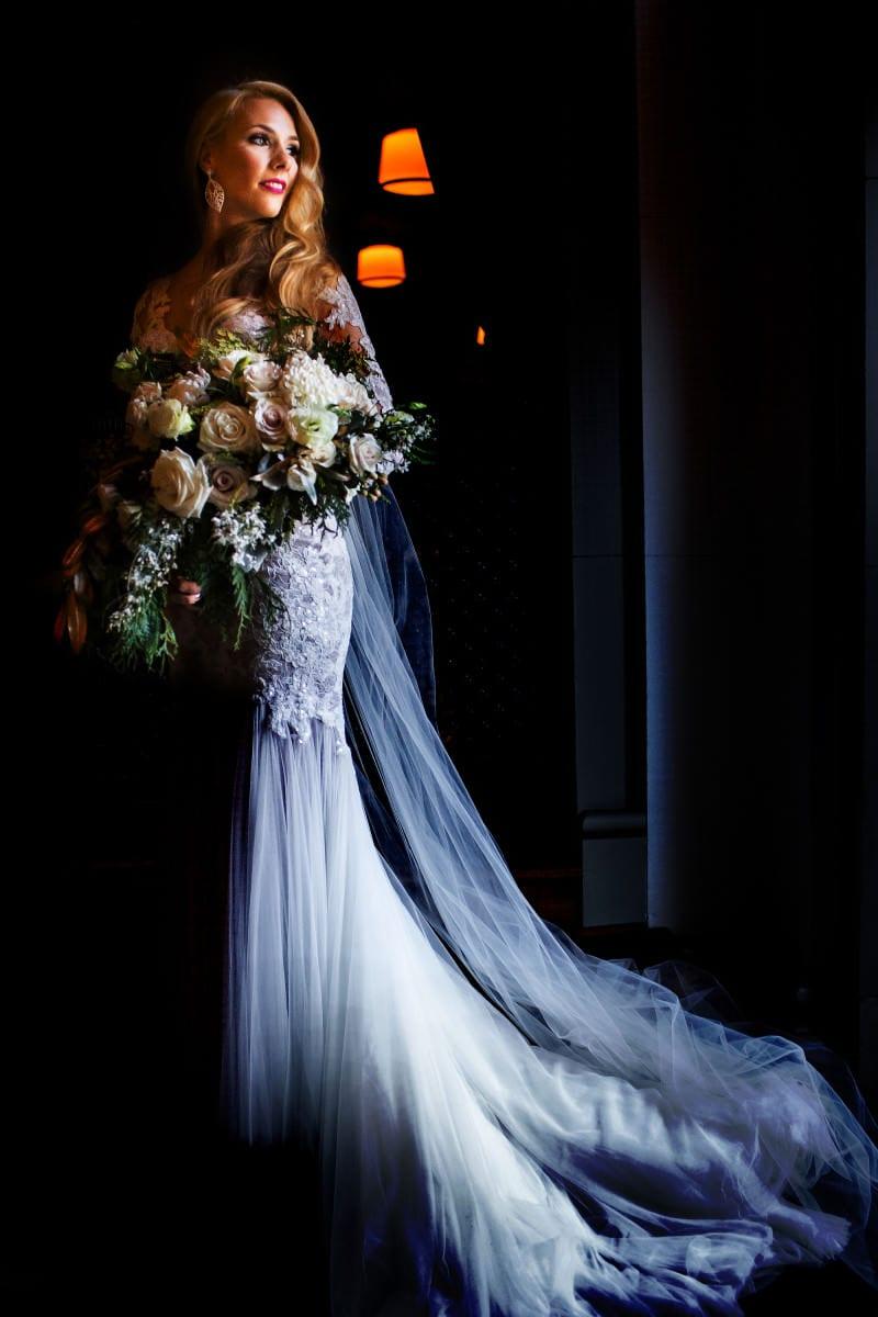 Blue Hour Wedding in Portland, Oregon (25)