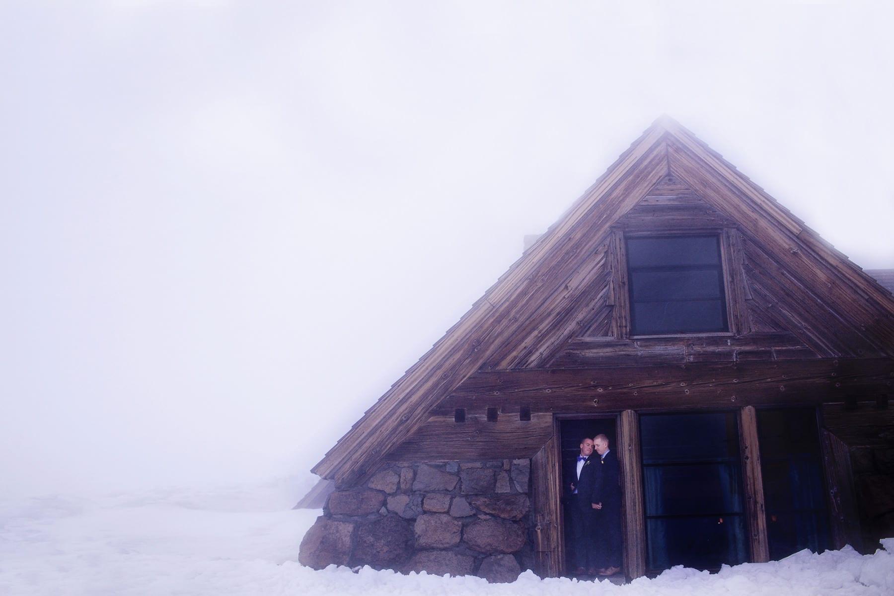 Silcox Hut Wedding at Timberline Lodge, Mt. Hood