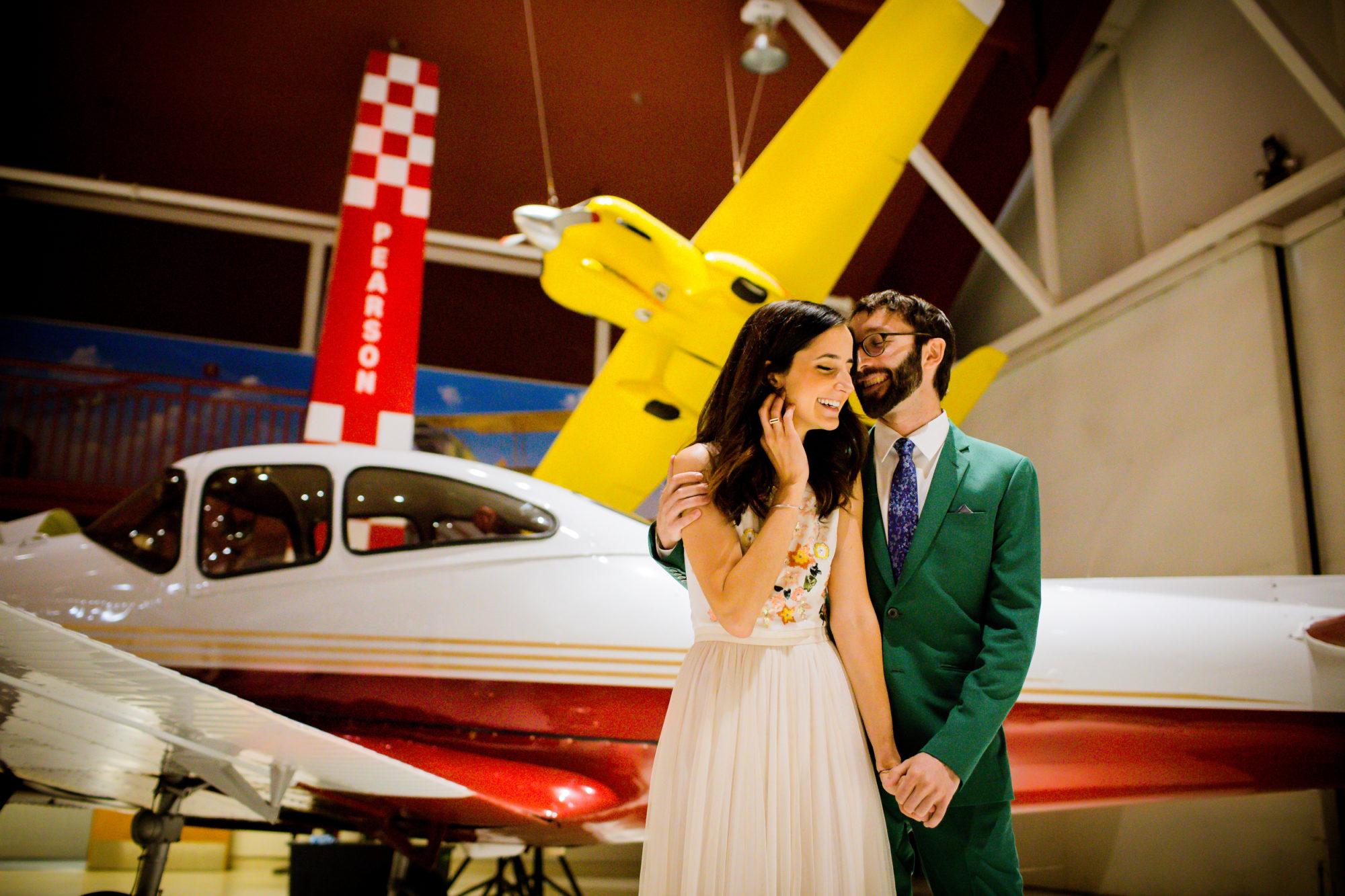 Boaz Frankel Brooke Barker Jewish Wedding Pearson Air Museum 007
