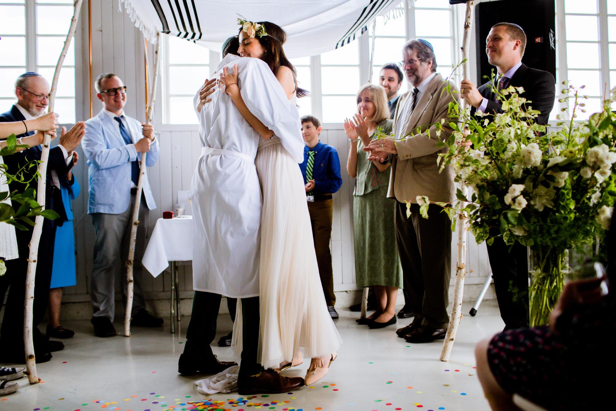 Boaz Frankel Brooke Barker Jewish Wedding Pearson Air Museum 019