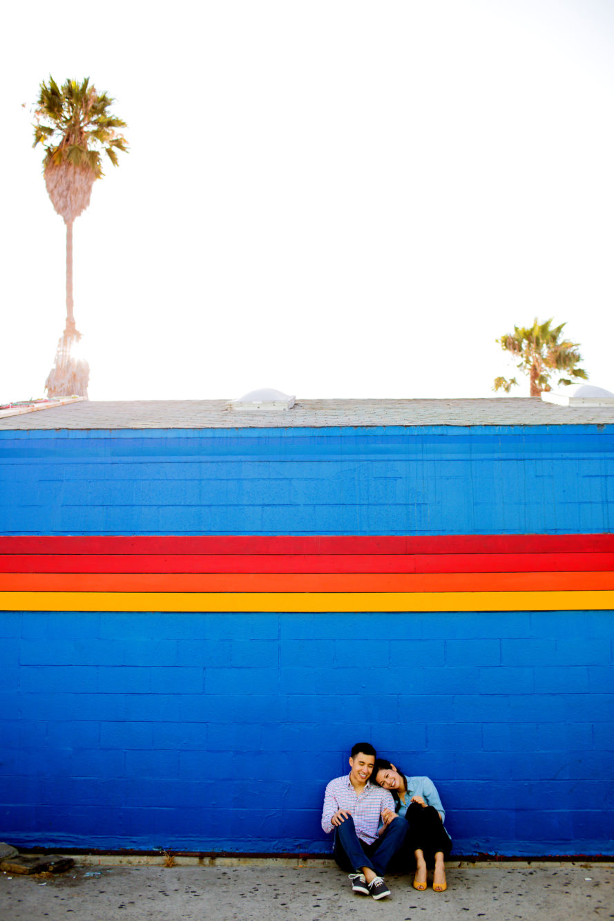 Venice Beach California Engagement Shoot001