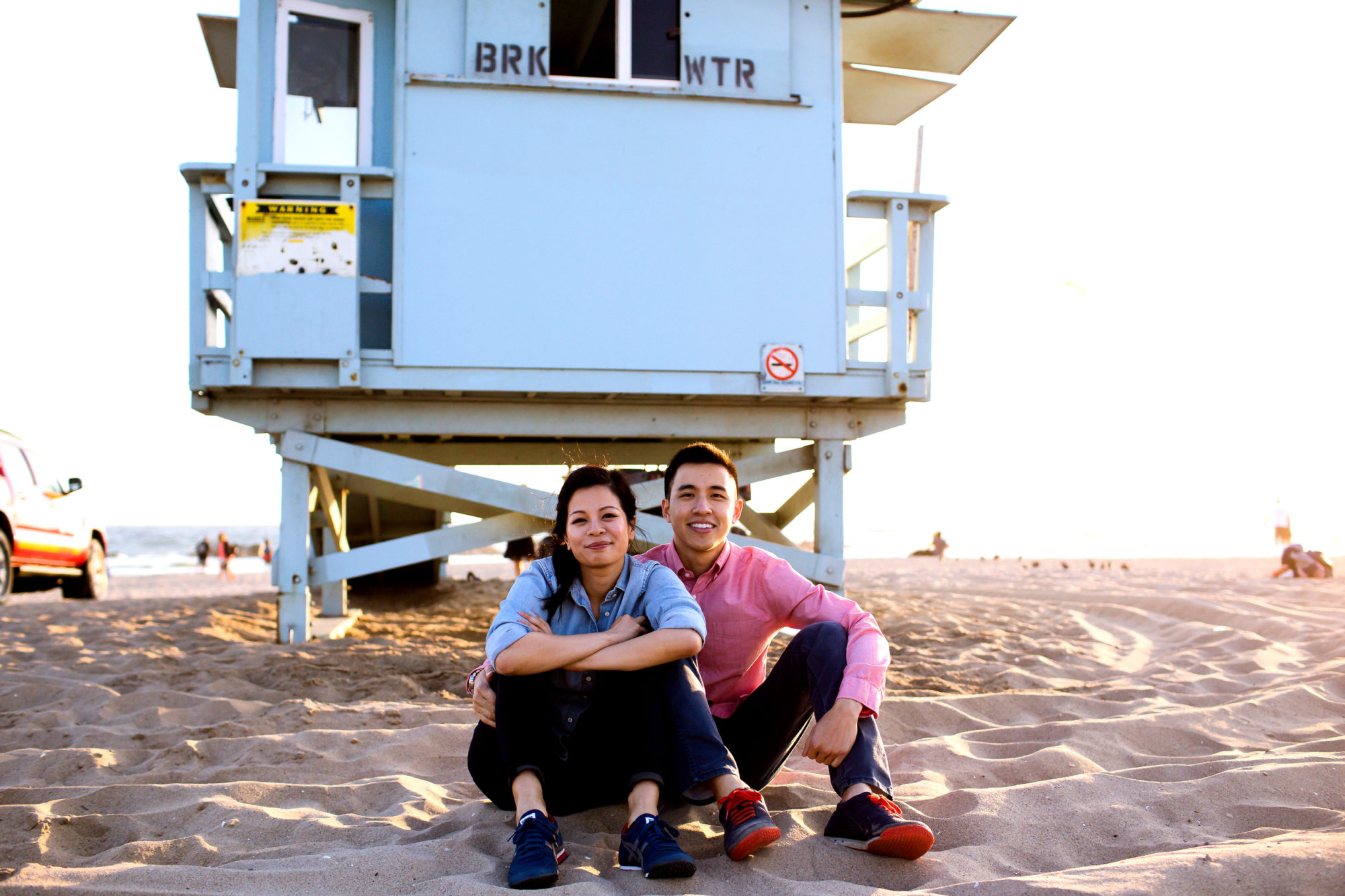 Venice Beach California Engagement Shoot018