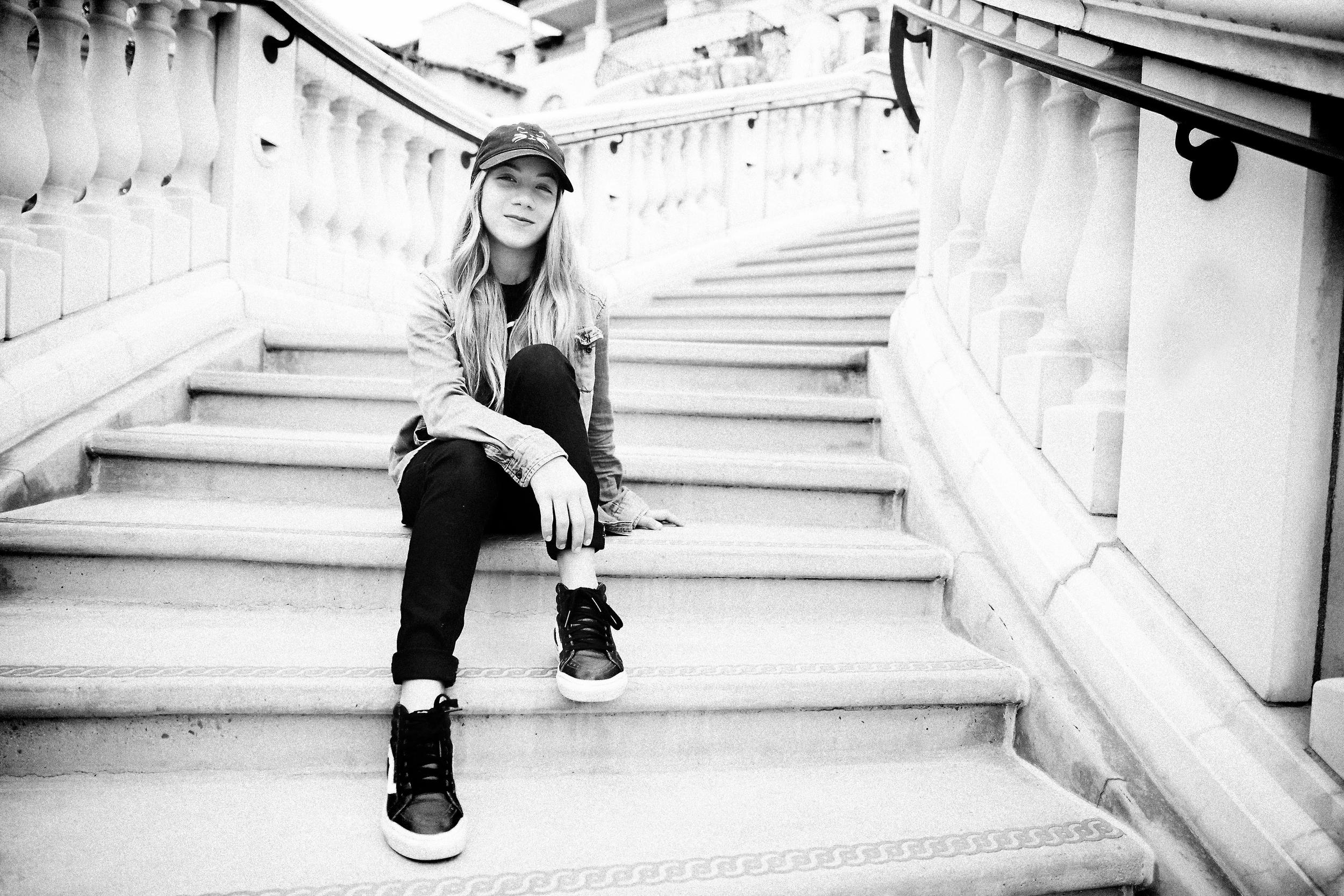 Brighton Zeuner Professional Skateboarder