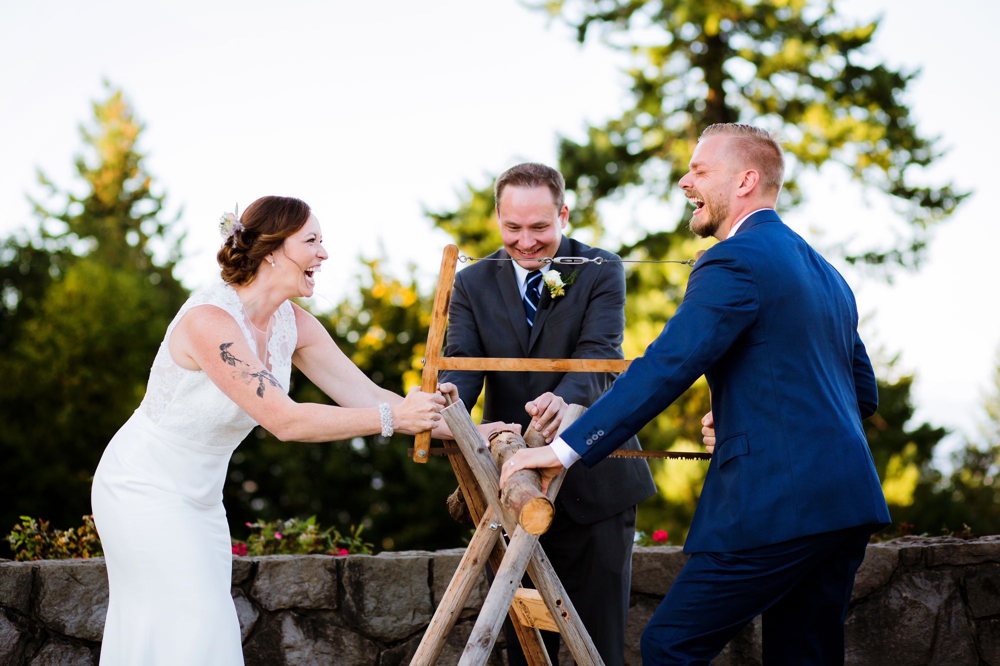 Council Crest and Elder Hall Wedding in Portland, Oregon by Stark Photography.